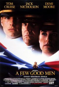 A Few Good Men | A Few Good Men Movie Poster | Tom Cruise | Demi Moore | Jack Nicholson | J.T. Walsh | Kiefer Sutherland | Kevin Bacon | Kevin Pollak | Rob Reiner | 1992 | www.myalltimefavoritemovies.com | myalltimefavorites.com