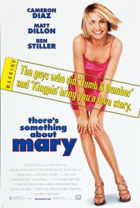 There's Something About Mary | Theres Something About Mary | There's Something About Mary Movie Poster | Ben Stiller | Cameron Diaz | Matt Dillon | Lee Evans | Chris Elliott | Lin Shayne | Jeffrey Tambor | Markie Post | Keith David | W. Earl Brown | Sarah Silverman | Brett Favre | 1998 | www.myalltimefavoritemovies.com | www.myalltimefavorites.com