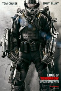 Edge of Tomorrow | Edge of Tomorrow Movie Poster | 2014 | Tom Cruise | Emily Blunt | Brendan Gleeson | Bill Paxton | Charlotte Riley | Jonas Armstrong | Franz Drameh | Laura Pulver | Terence Maynard | www.myalltimefavoritemovies.com | www.myalltimefavorites.com