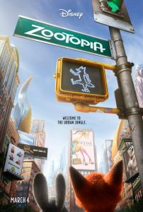 Zootopia | Zootopia Movie Poster | 2016 | Ginnifer Goodwin | Jason Bateman | Idris Elba | Jenny Slate | Nate Torrence | Bonnie Hunt | Don Lake | Tommy Chong | J.K. Simmons | Octavia Spencer | Alan Tudyk | Shakira | Tom Lister Jr. | Kristen Bell | Josh Dallas | Byron Howard | Rich Moore | www.myalltimefavoritemovies.com | www.myalltimefavorites.com