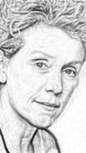Frances McDormand | Frances McDormand Picture | Three Billboards Outside Ebbing, Missouri | Fargo | Mississippi Burning | Blood Simple | Almost Famous | Burn After Reading | North Country | Raising Arizona | Moonrise Kingdom | Wonder Boys | Laurel Canyon | Primal Fear | Hail, Caesar! | Something's Gotta Give | www.myalltimefavoritemovies.com