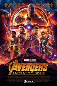 Avengers: Infinity War | Avengers: Infinity War Movie Poster | 2018 | Robert Downey Jr. | Chris Hemsworth | Mark Ruffalo | Chris Evans | Scarlett Johansson | Don Cheadle | Benedict Cumberbatch | Tom Holland | Chadwick Boseman | Zoe Saldana | Karen Gillan | Tom Hiddleston | Paul Bettany | Elizabeth Mackie | Idris Elba | Peter Dinklage | Dave Bautista | Vin Diesel | Bradley Cooper | Gwyneth Paltrow | Benicio Del Toro | Josh Brolin | Chris Pratt | William Hurt | Stan Lee | Samuel L. Jackson | Anthony Russo | Joe Russo | www.myalltimefavorites.com | www.myalltimefavoritemovies.com