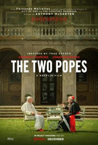 The Two Popes | The Two Popes Movie Poster | 2019 | Two Popes | Anthony Hopkins | Jonathan Pryce | Juan Minujin | Luis Gnecco | Cristina Banegas | Sidney Cole | Lisandro Fiks | Thomas D. Williams | Emma Bonino | Federico Torre | Fernando Meirelles | www.myalltimefavorites.com | www.myalltimefavoritemovies.com